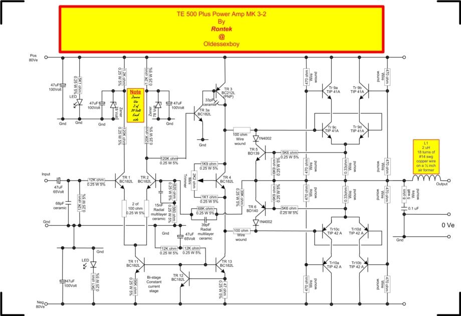 poweramps  a old essex boys tech stuff  rontek, wiring diagram